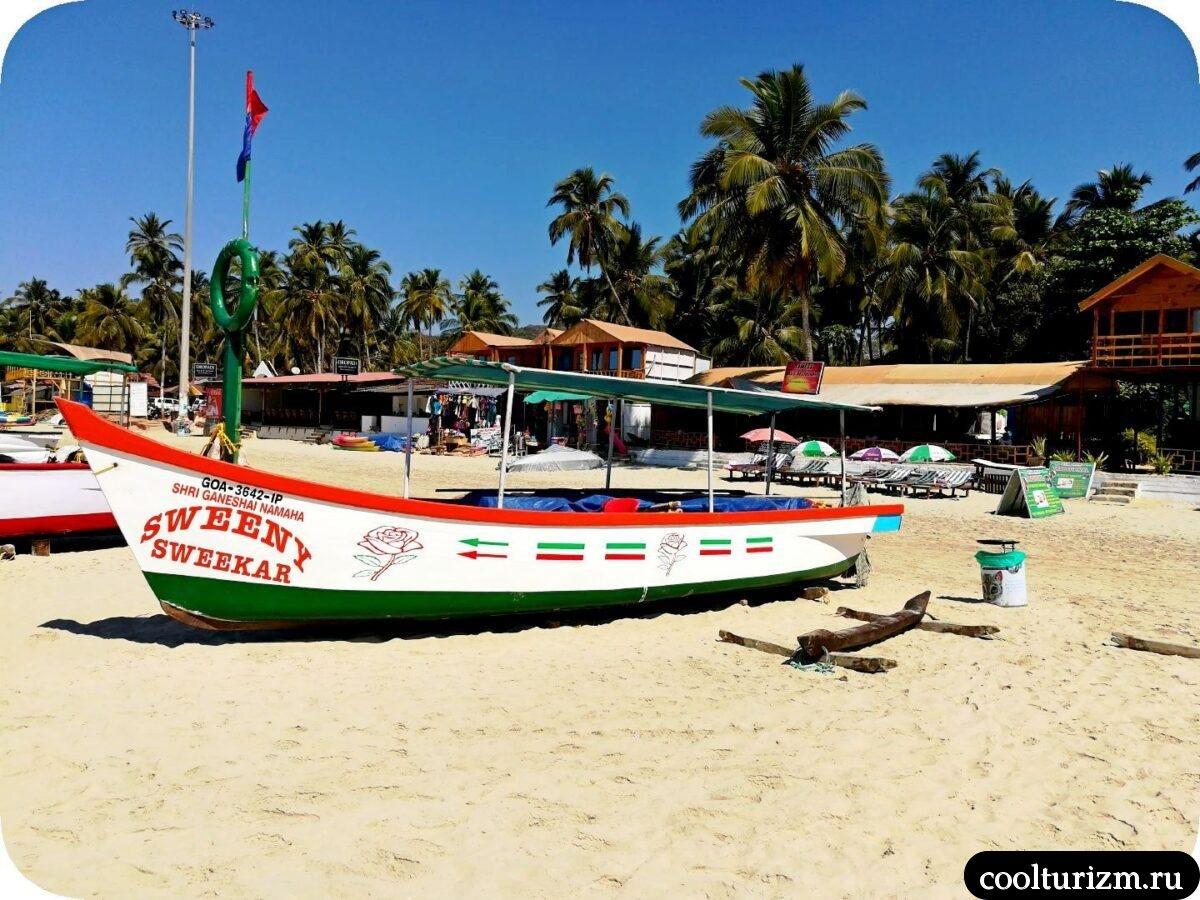 экскурсия по лучшим пляжам Южного Гоа Палолем лучший пляж Гоа