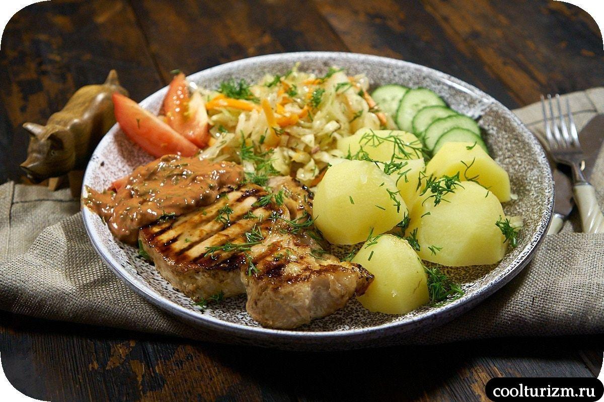 корейка с картошкой и корейской капустой простой рецепт