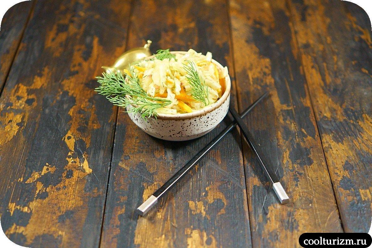 корейская капуста рецепт пошагово фото
