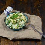 Самый простой салат из кабачков