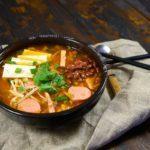 Пудэчиге корейский суп