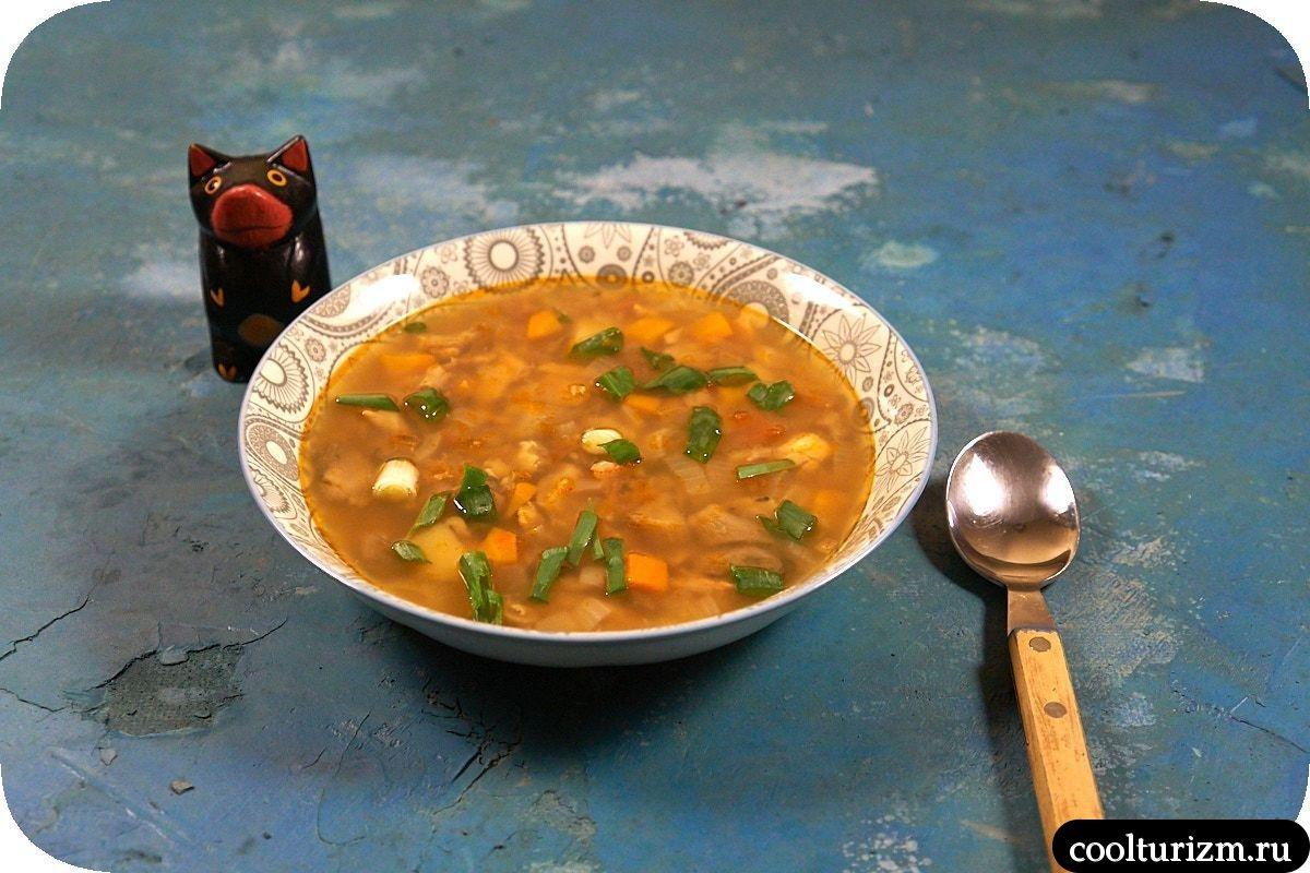 как приготовить суп из вешенок с форелью