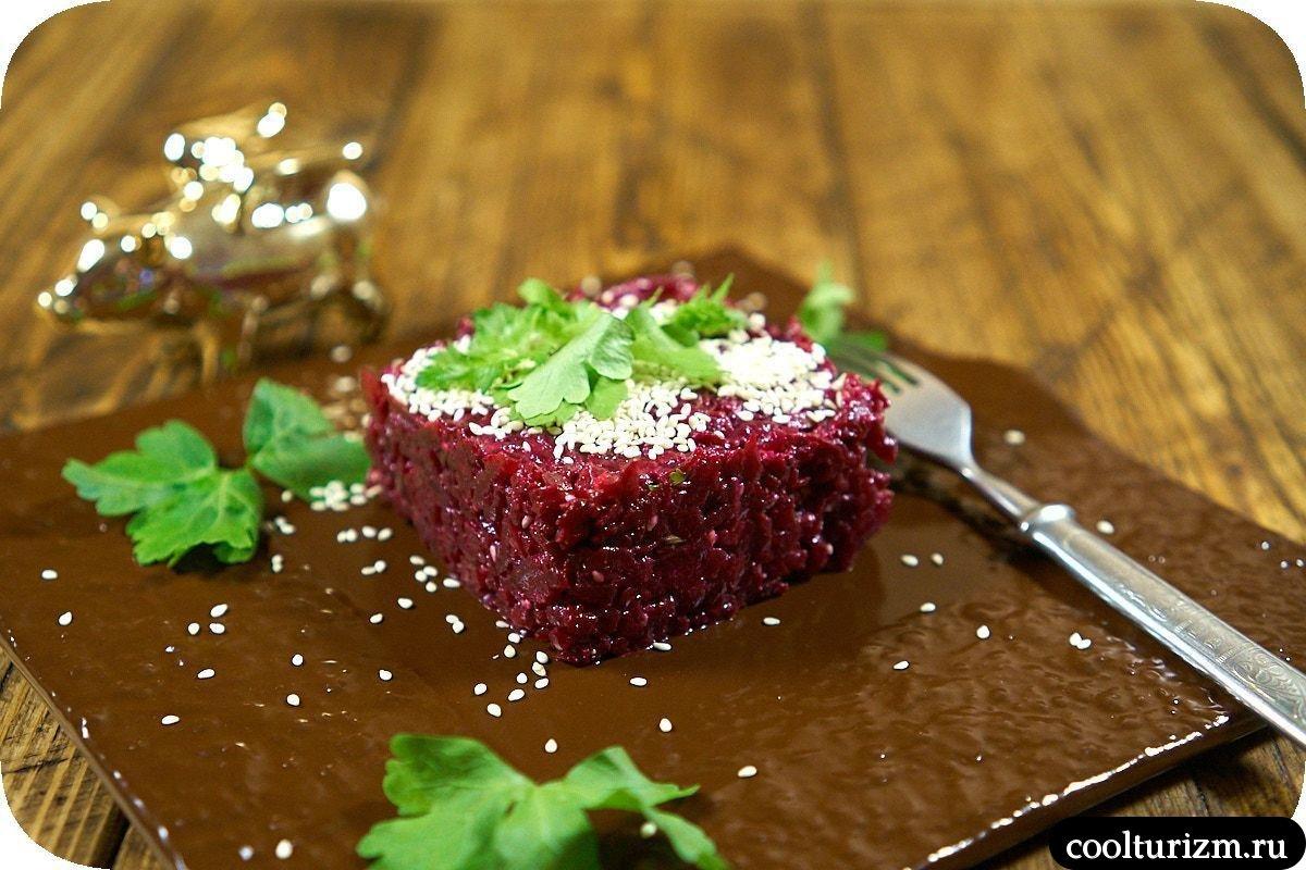 как приготовить скумбрия со свеклой салат