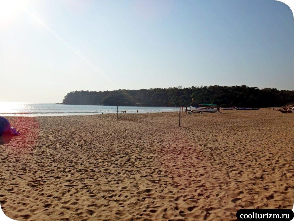 Агонда пляж Южный Гоа виды