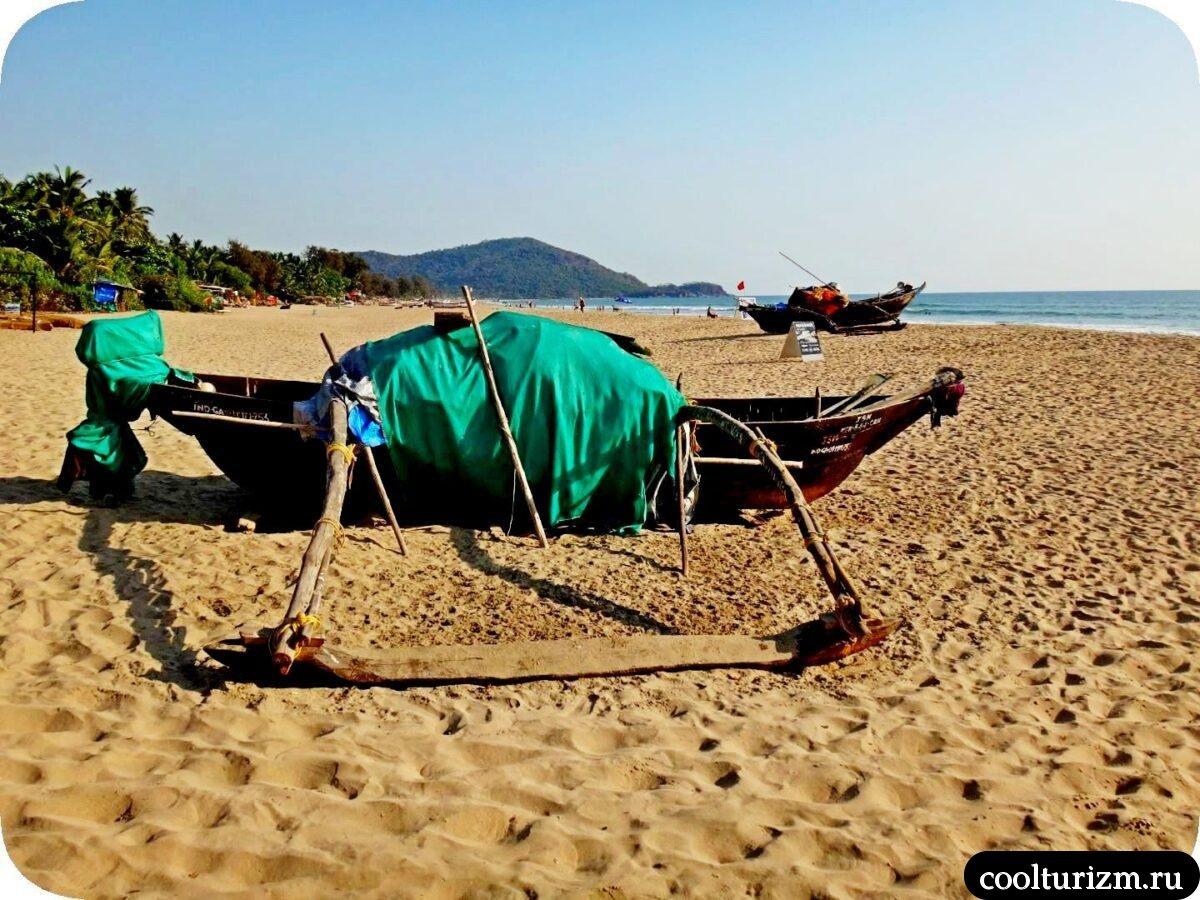 Агонда пляж Южный Гоа фото
