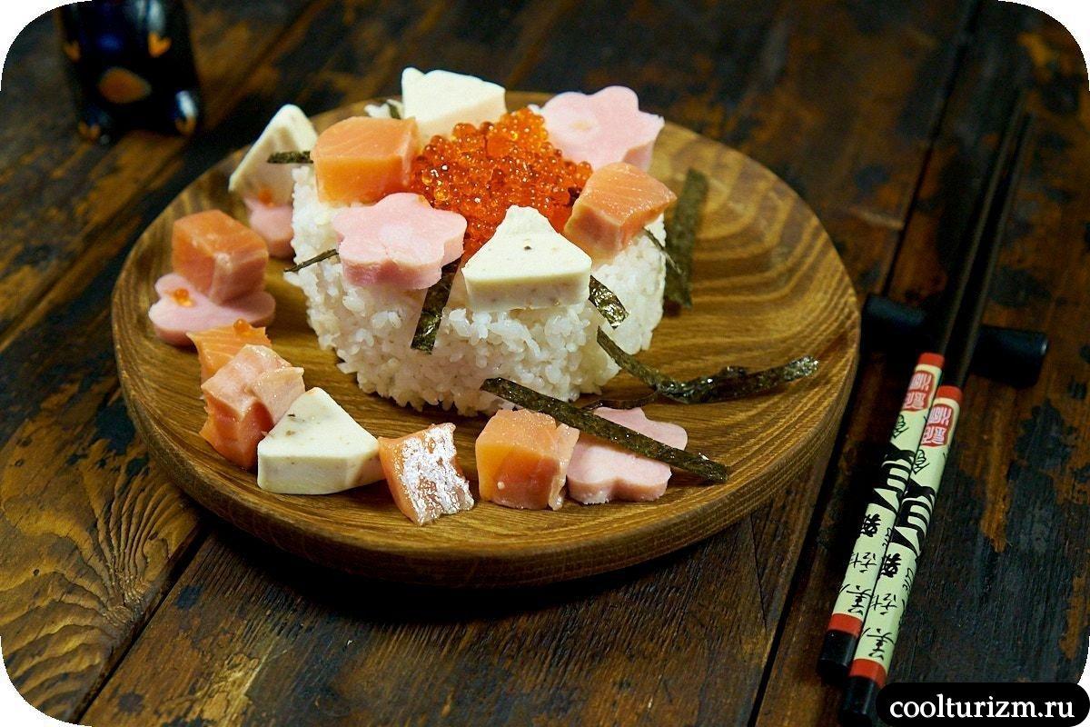 простой рецепт салата шираши суши