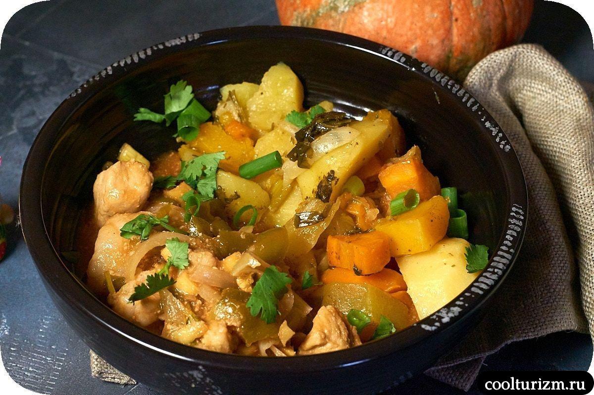 как приготовить тушеное мясо с картошкой в томатном соусе