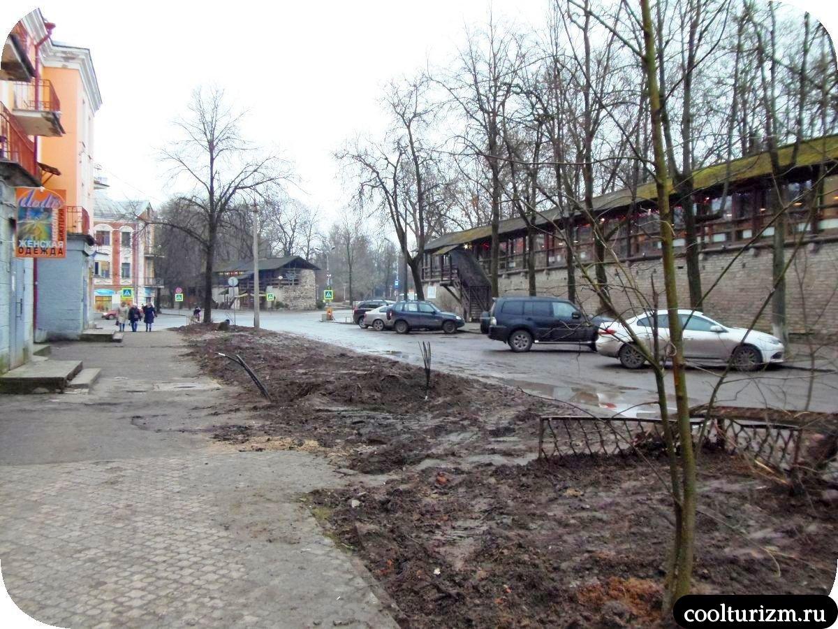 улица Свердлова Псков ремонт