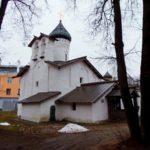 Церковь Сергия Радонежского с Залужья в Пскове