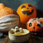 Суп-пюре из тыквы на Хэллоуин