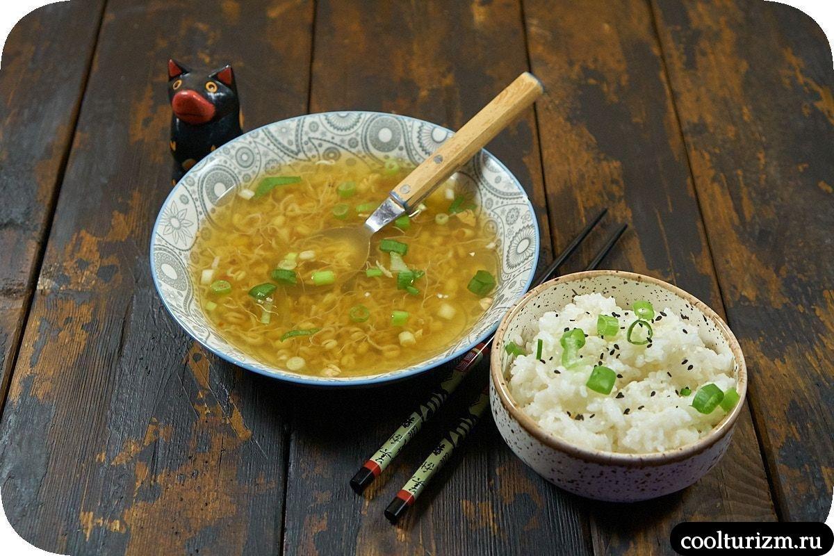 суп с ростками по-вьетнамски