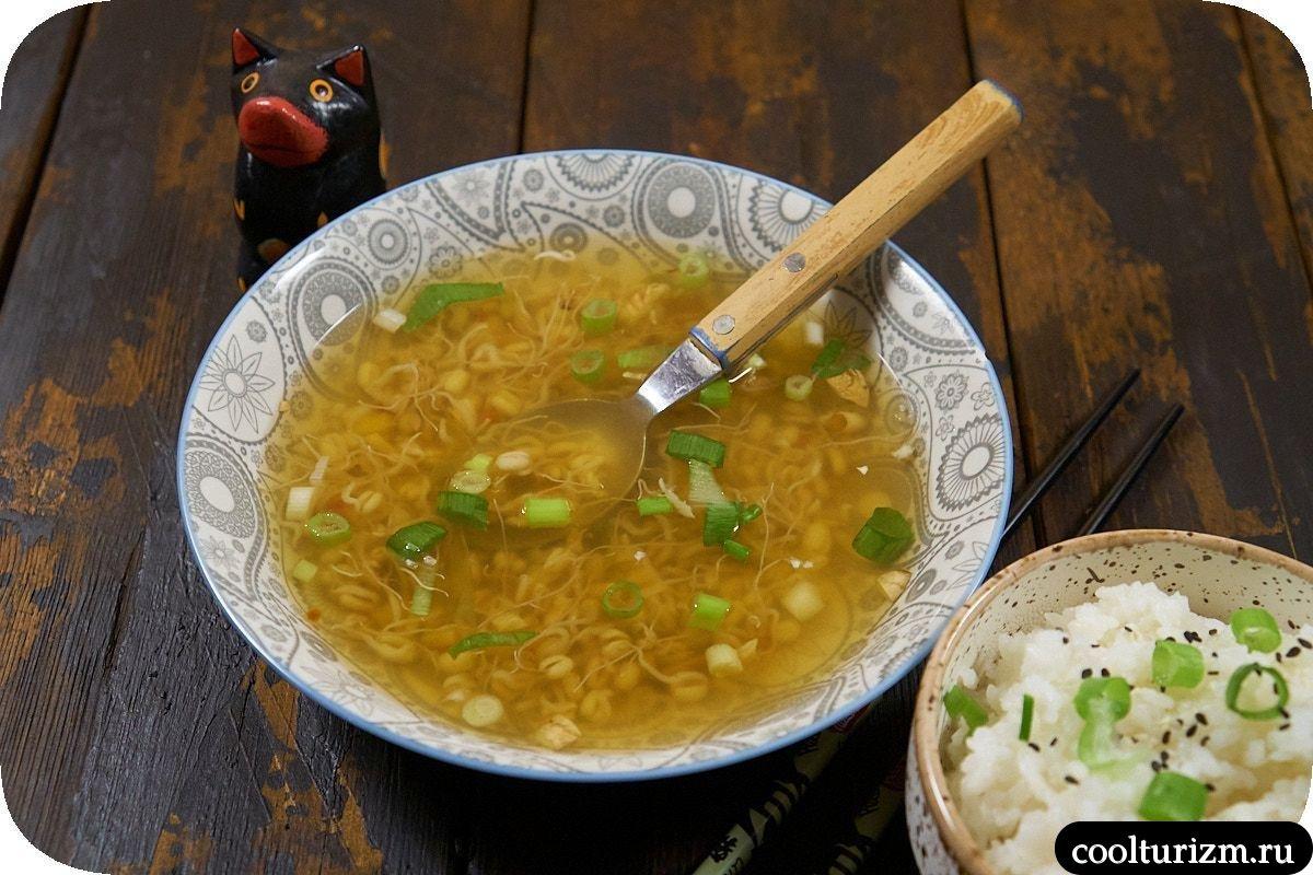 суп с ростками по-вьетнамски пошаговый рецепт