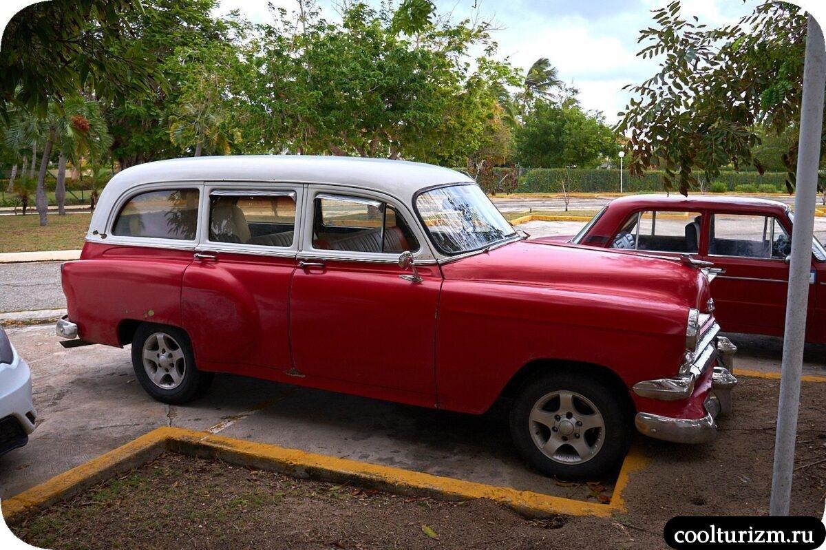 Старые автомобили на Кубе с фото
