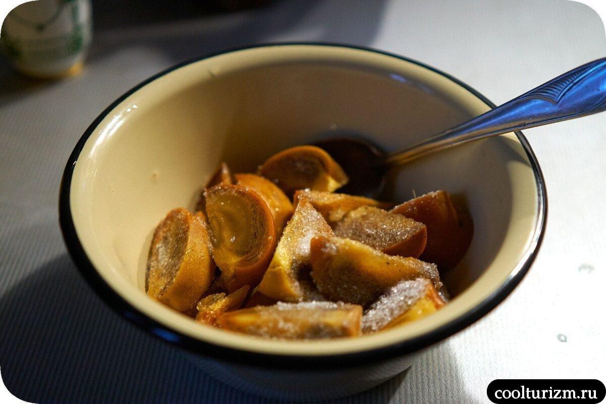 как готовить рецепт кимчи из хурмы