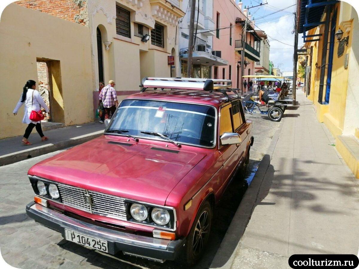Старые автомобили на Кубе репортаж