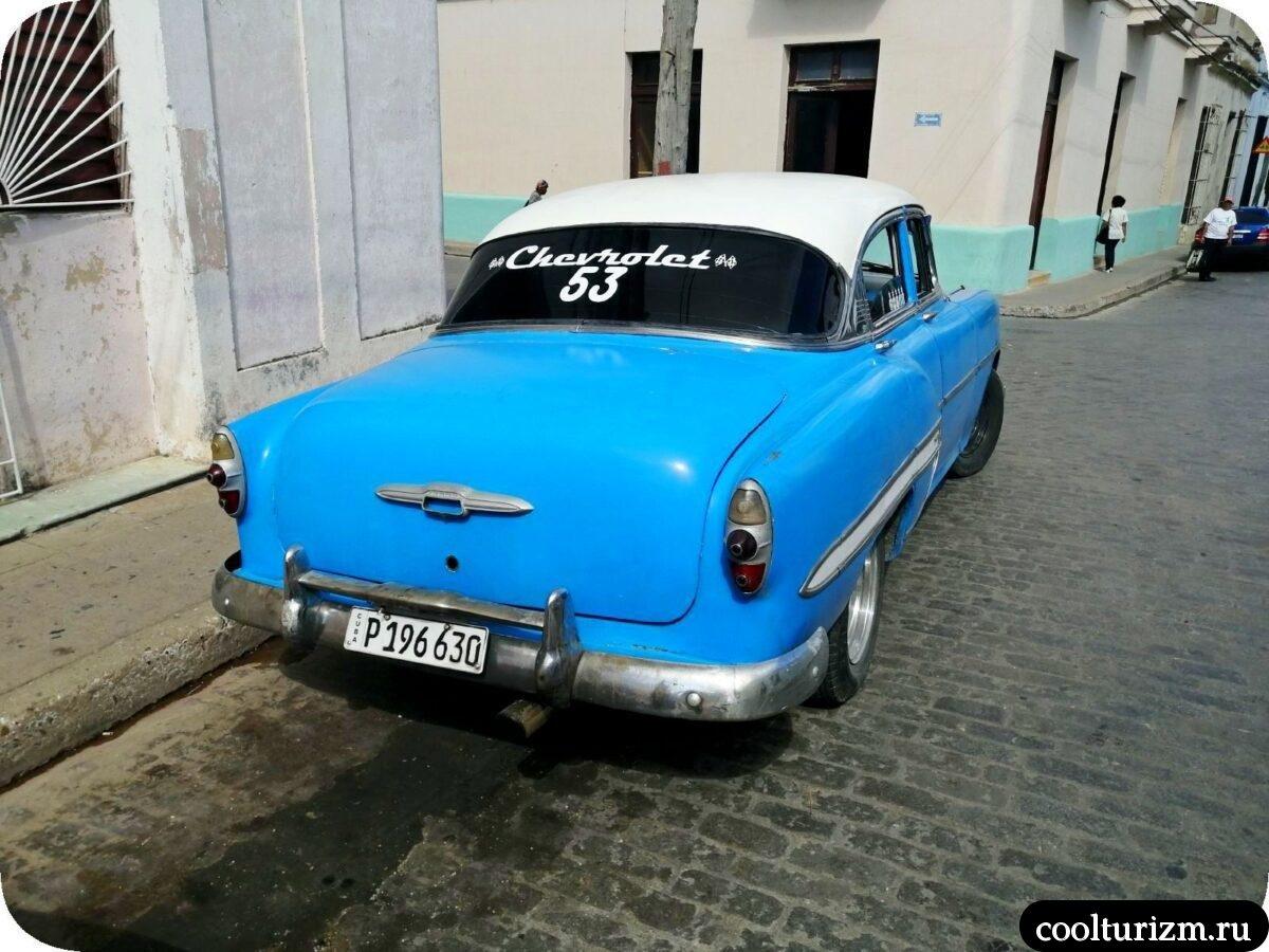 Старые автомобили на Кубе Chevrolet