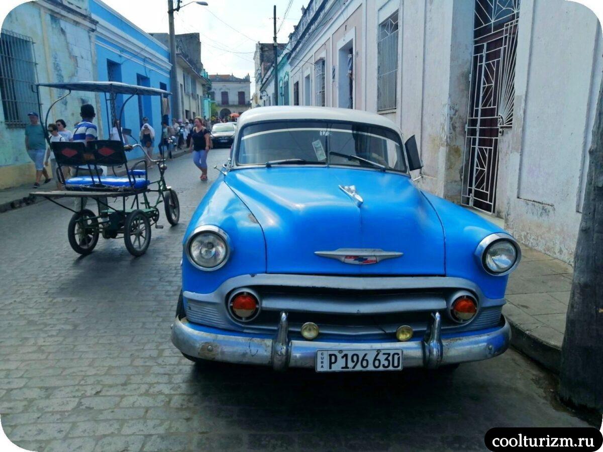 Старые автомобили на Кубе