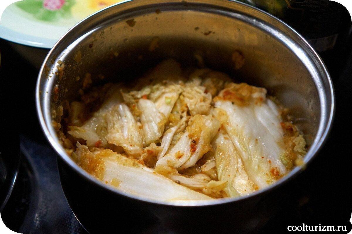 как приготовить кимчи из пекинской капусты в домашних условиях