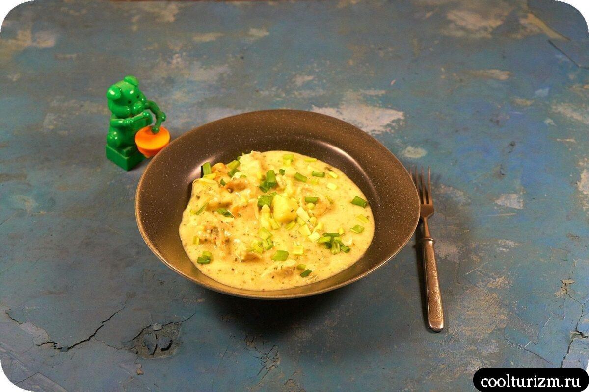 курица с картошкой в сметанном соусе в домашних условиях