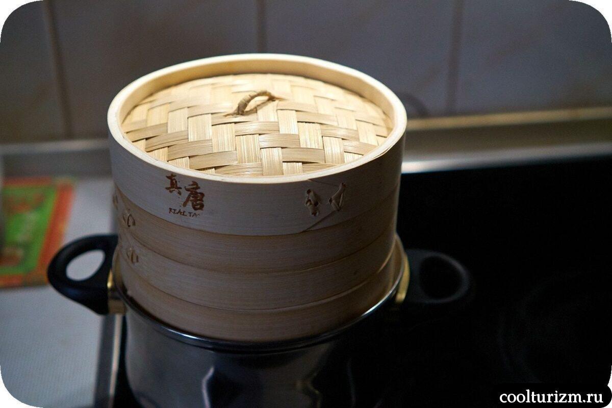 бамбуковая пароварка как пользоваться