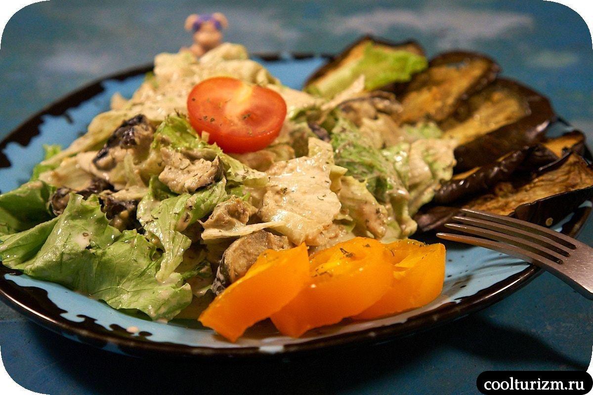 как приготовить салат из баклажанов с майонезом