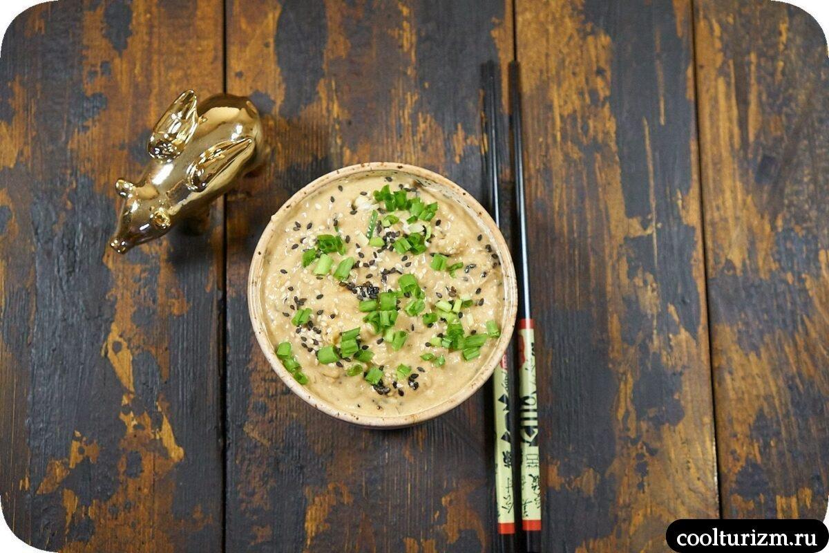 как приготовить японский салат с тунцом и картофелем