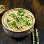Японский салат с тунцом и картофелем