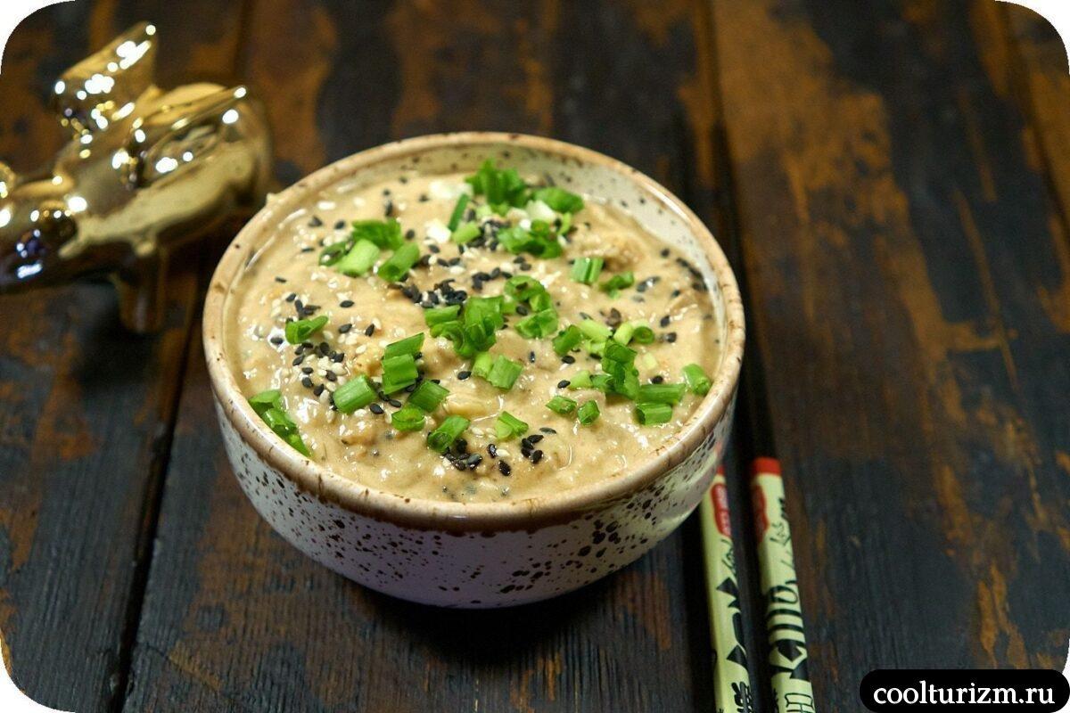 японский салат с тунцом и картофелем рецепт