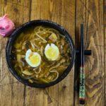 Домашний мисо суп с грибами