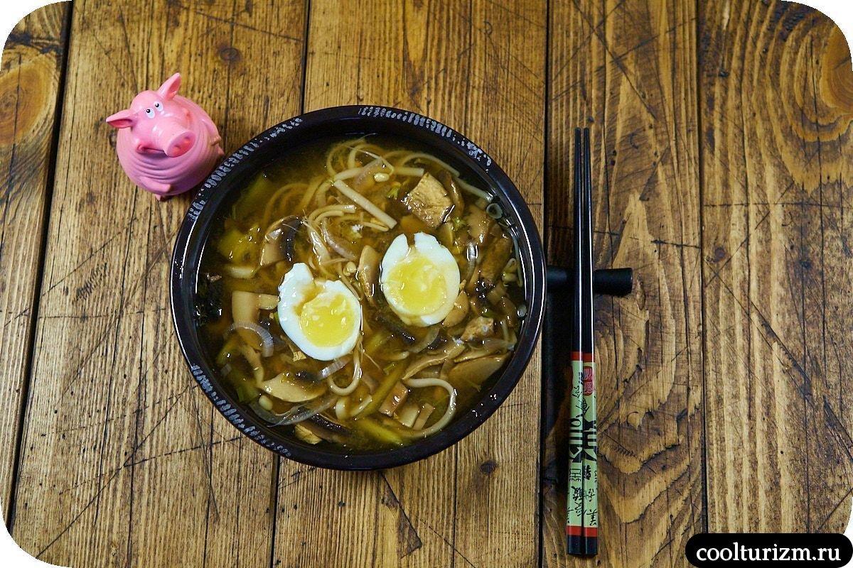 как приготовить домашний мисо суп с грибами