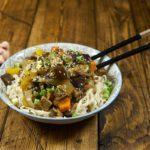Рецепт тофу по-китайски с овощами