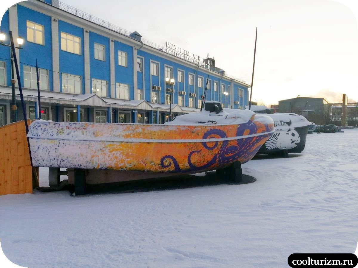 Мурманск морской вокзал новые арт-объекты