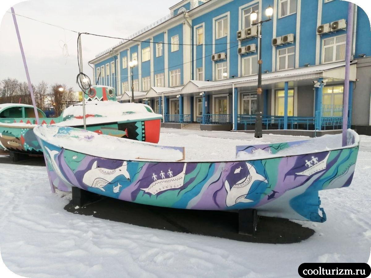 Мурманск морвокзал новые арт-объекты