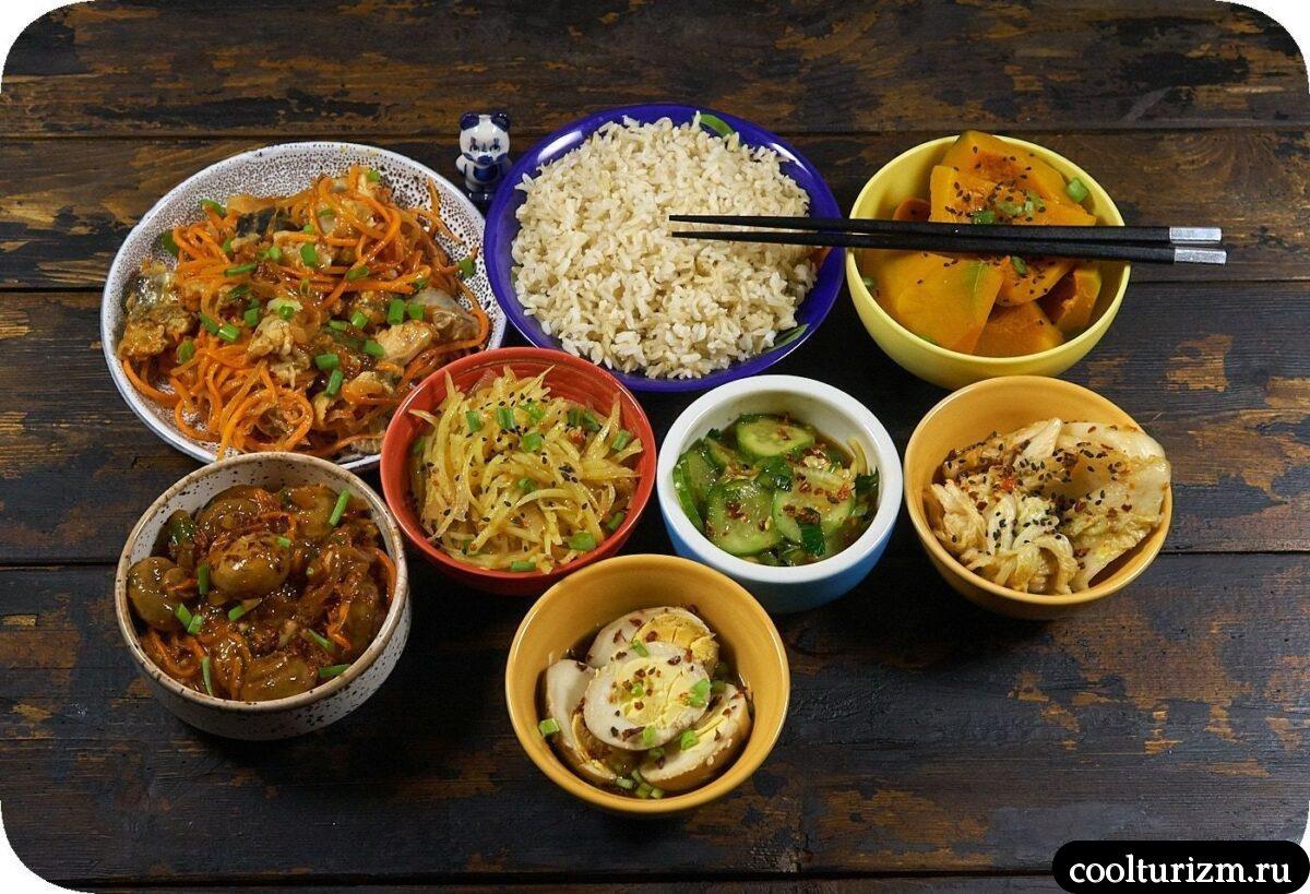 салат огурцы кабачки в корейском стиле рецепт