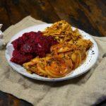Скумбрия в томатном соусе на сковороде