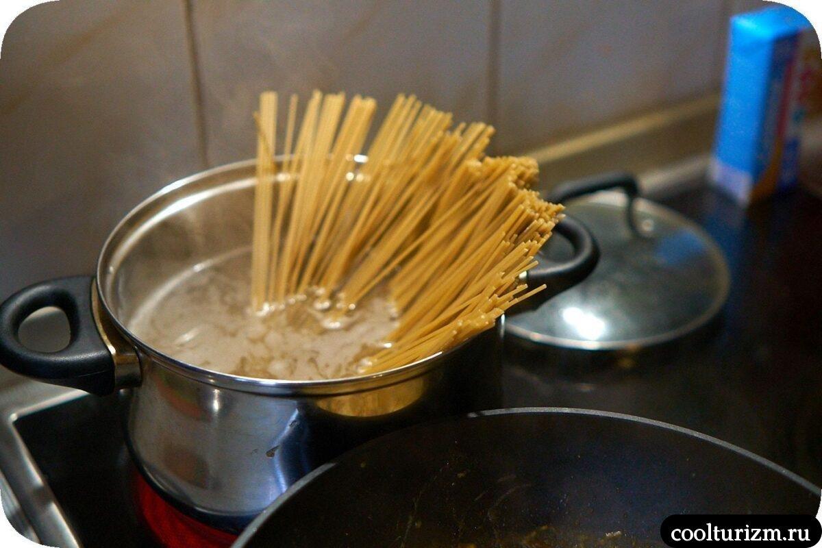 сколько варить овсяные спагетти