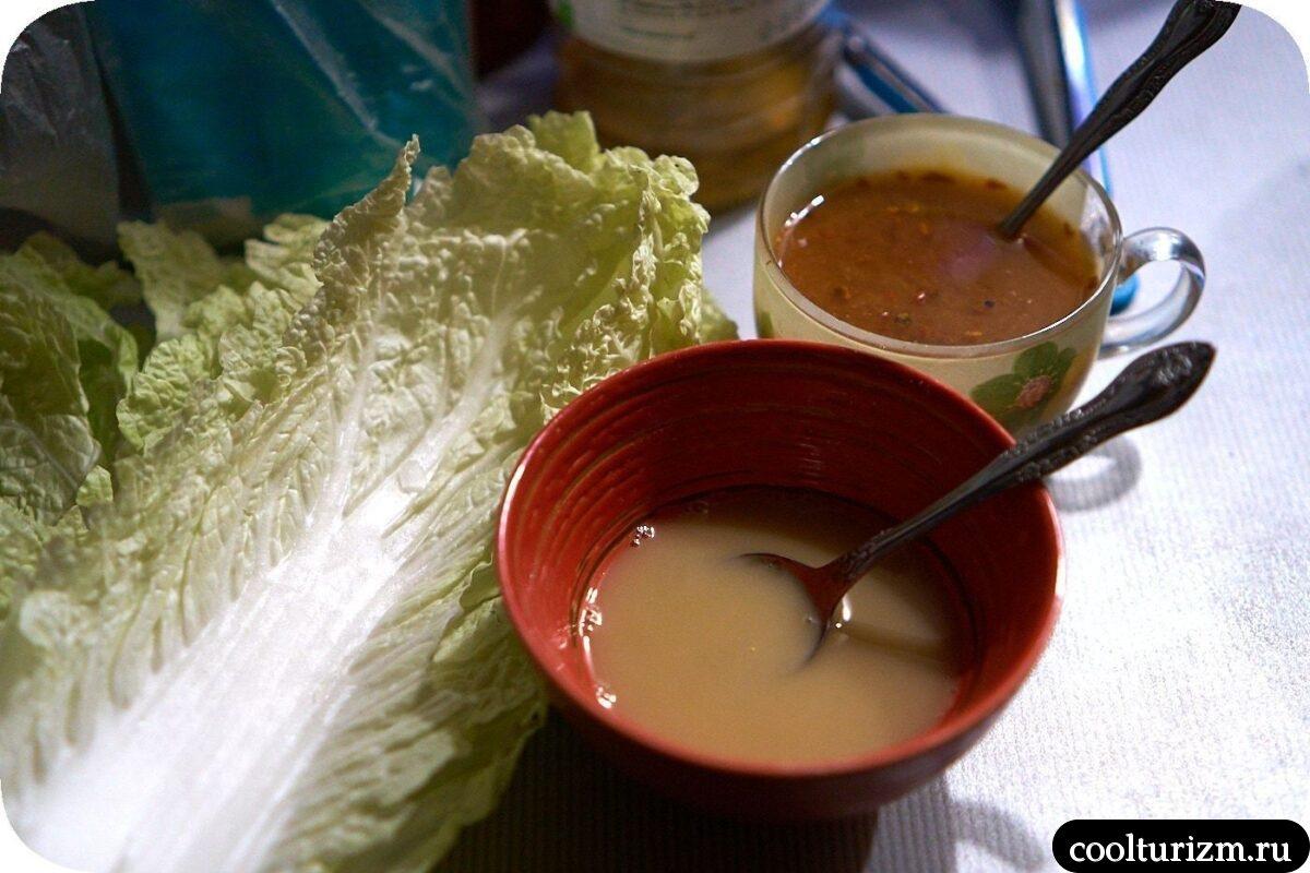 рецепт нута с тофу и пекинской капустой для веганов