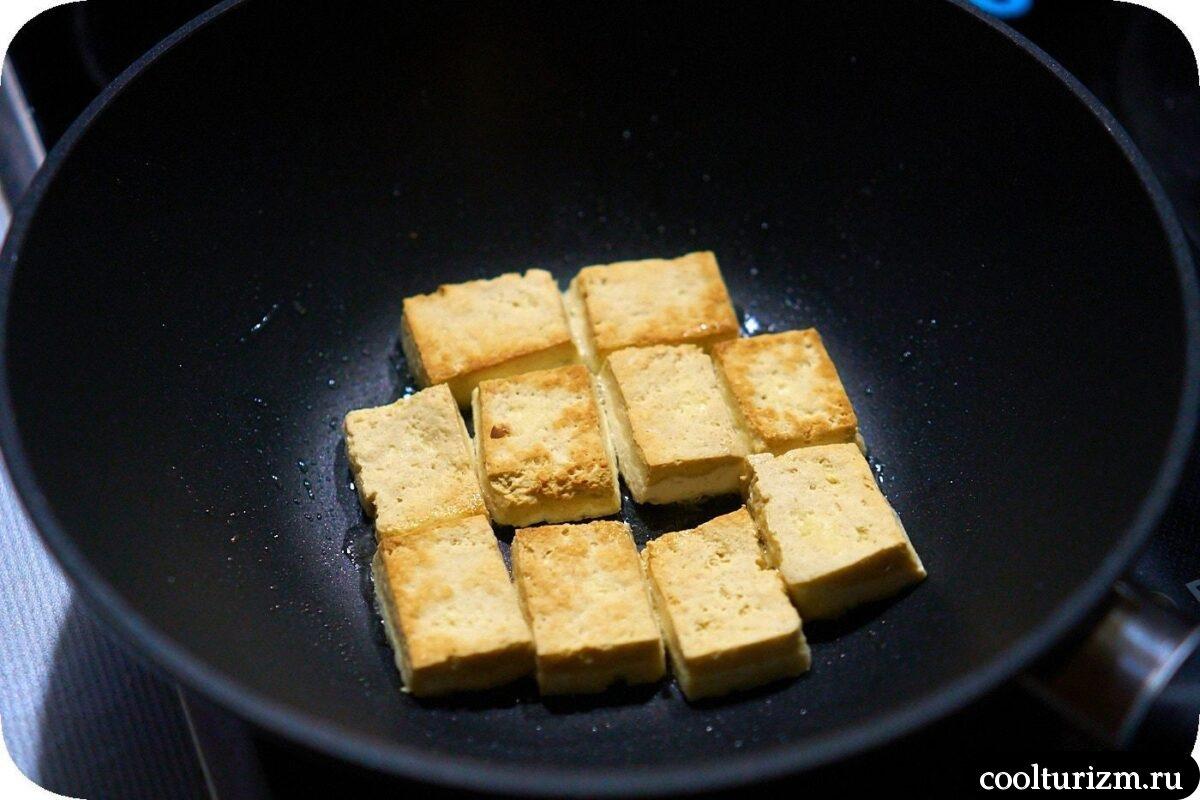 вег рецепт нута с тофу и пекинской капустой