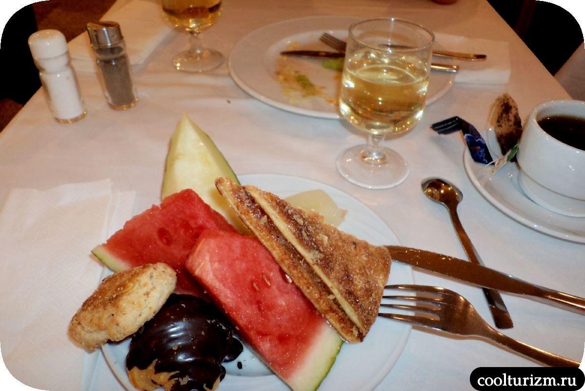 завтраки в Испании