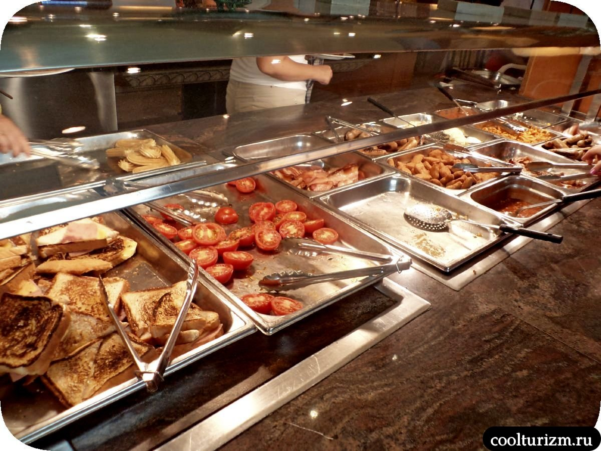 Еда в отеле Playa Park 3* Салоу Испания