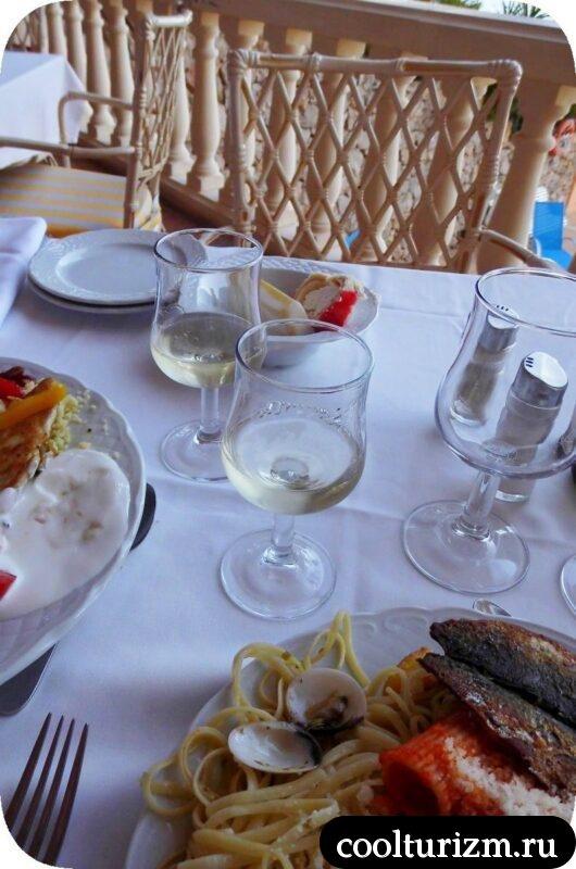Еда в отеле Европа Плайя Марина 4* HB
