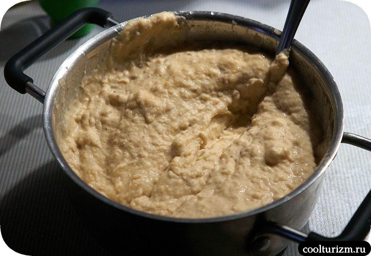 Быстрый хумус из фасоли простой рецепт