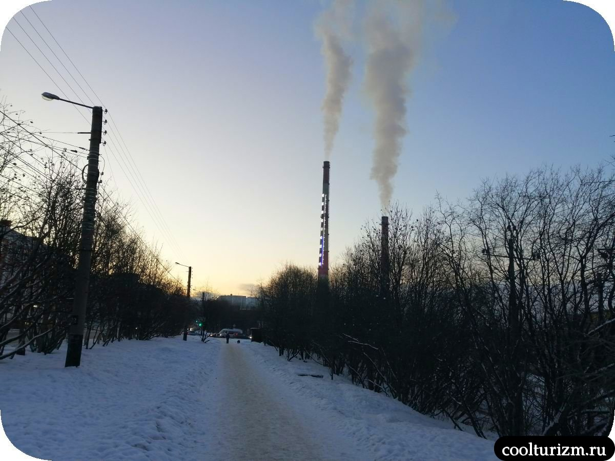 Термометр на ТЭц Мурманск