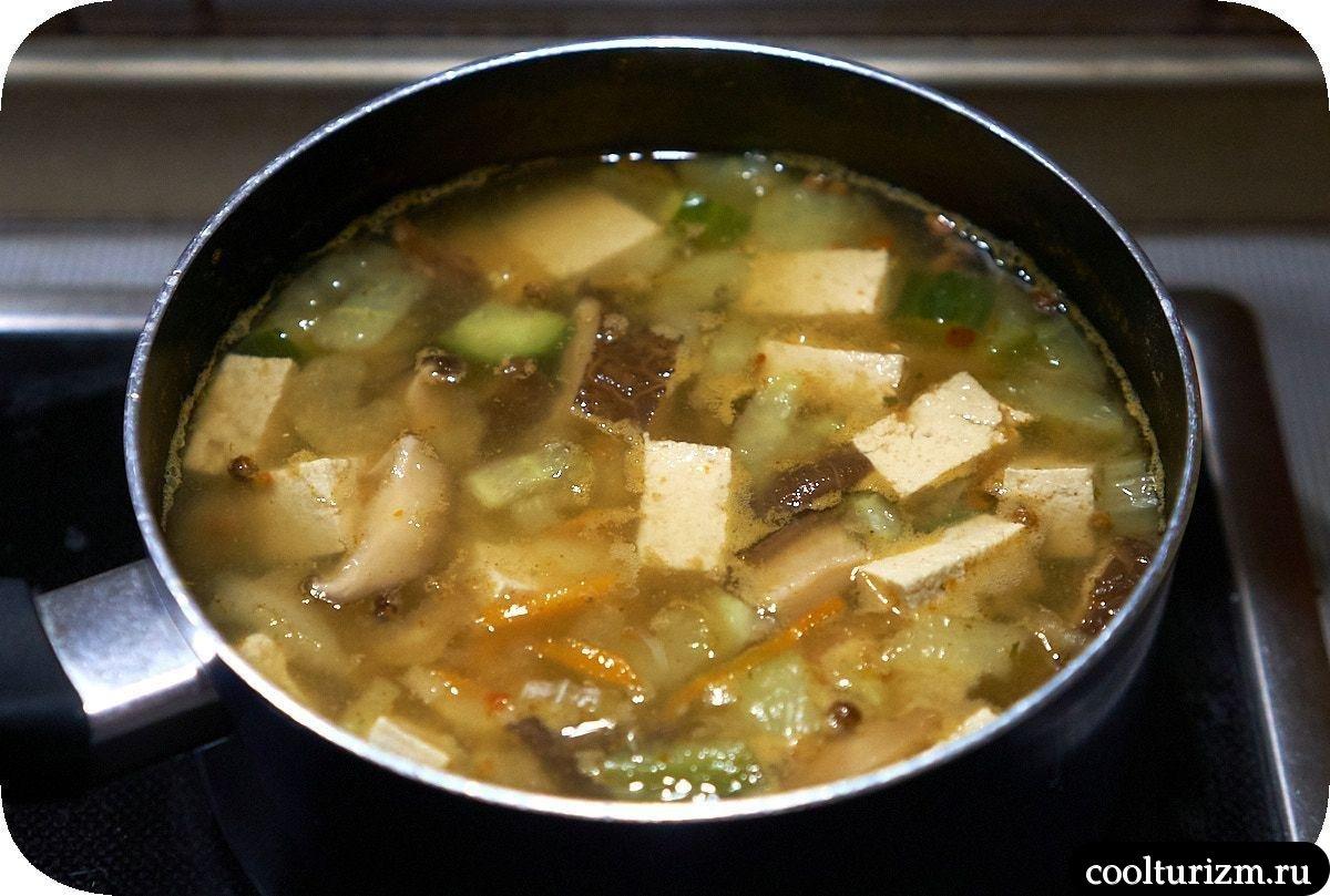 Суп с тофу рецепт в домашних условиях