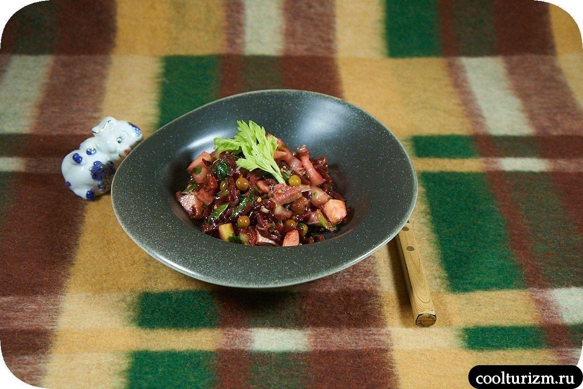 Винегрет с селедкой пошаговый рецепт фото