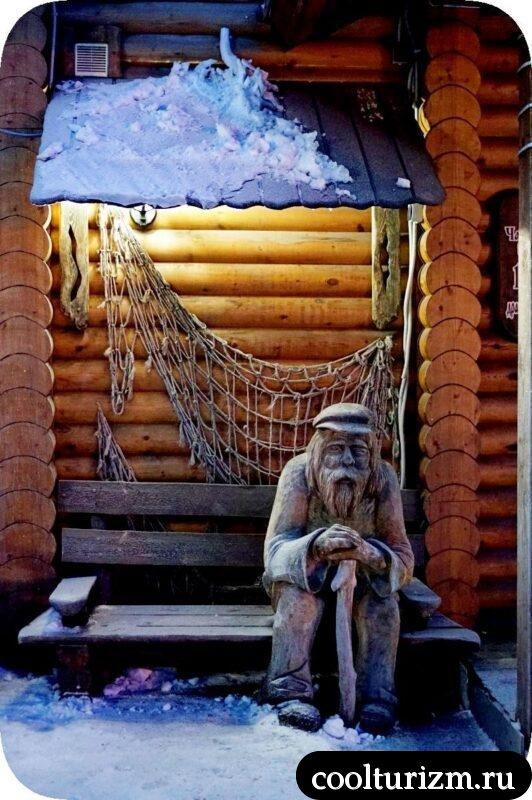 дед Семен Семеновское озеро Мурманск