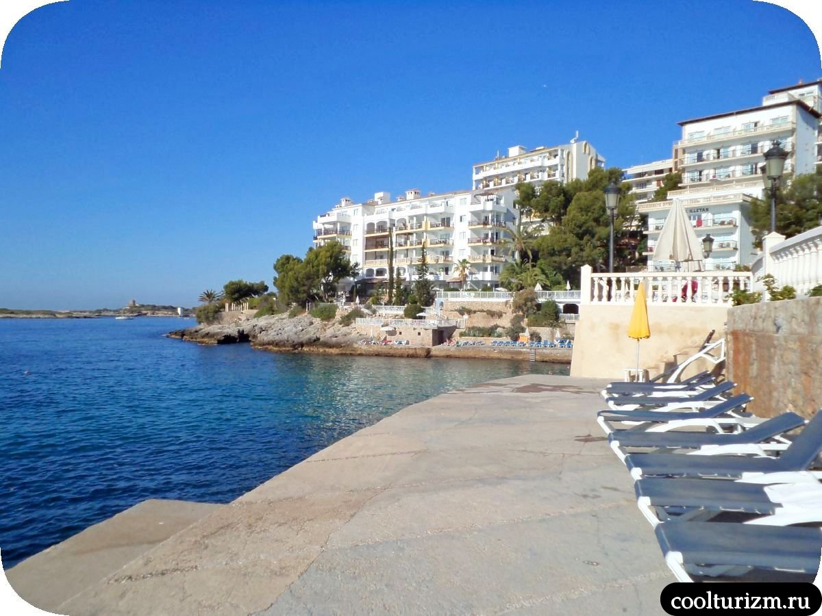 Пляж в Ильетас