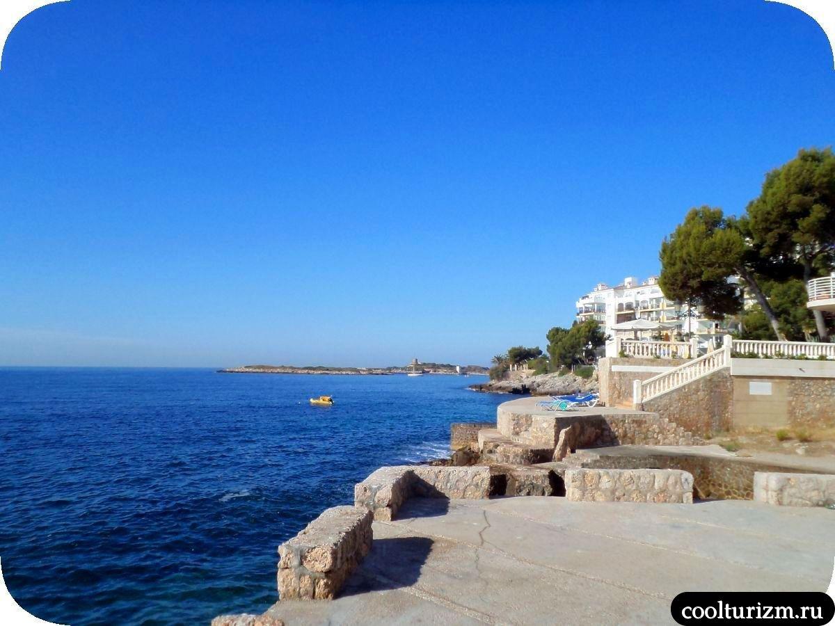 Пляж в Европа Плайя Марина 4* Ильетас