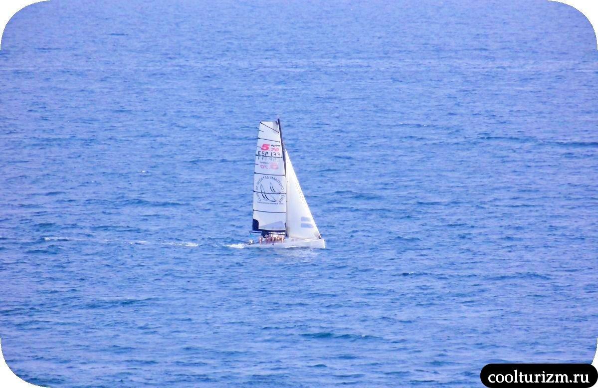 Виды на Средиземное море остров Майорка