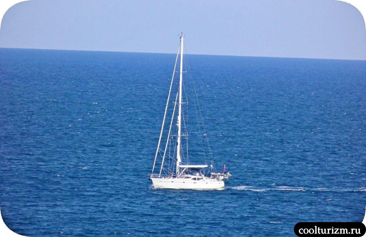 Виды на море остров Майорка летом